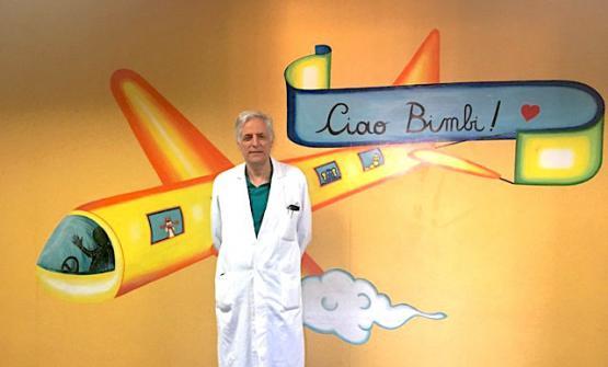 Il chirurgo pediatraAntonino Tramontano