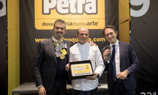 Antonio D'Agostino, Antonio Brancato e Piero Gabrieli al Sigep