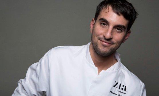 Antonio Ziantoni, chef-patron di Zia a Roma,