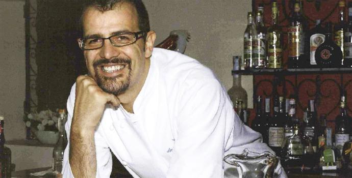 Antonio Guida, 42 anni, dal 2004 al timone dell'insegna delPellicano, 2 stelle Michelin. Nel 2015 sarà in sella alristorante del Mandarin Oriental Hotel in via Monte di Pietà a Milano (foto pellicanohotel.it)