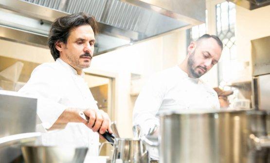 In cucina con il resident chef di Identità Milano, Alessandro Rinaldi