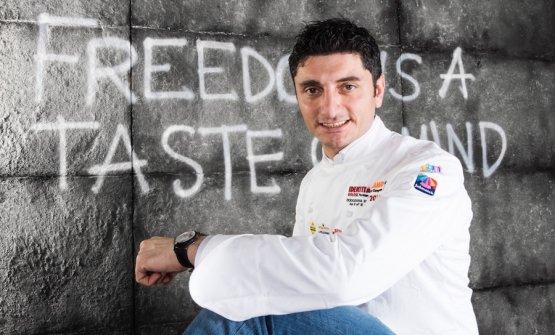 Andrea Aprea, seconda stella per lui al Vun a Milano, a Identità Golose 2016