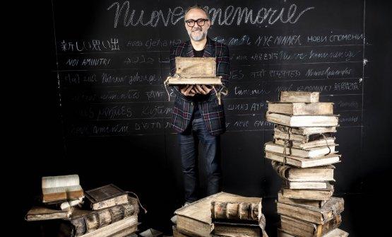 Massimo Bottura a Identità Golose 2020 (foto Brambilla-Serrani)