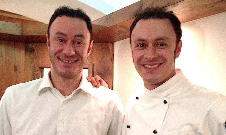 I fratelli Piccolin, a sinistra Fabrizio e a destra Roberto detto Roby