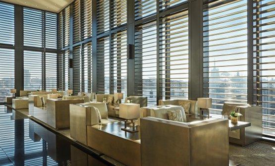 Uno scorcio del Bamboo Bar dell'Armani Hotel M