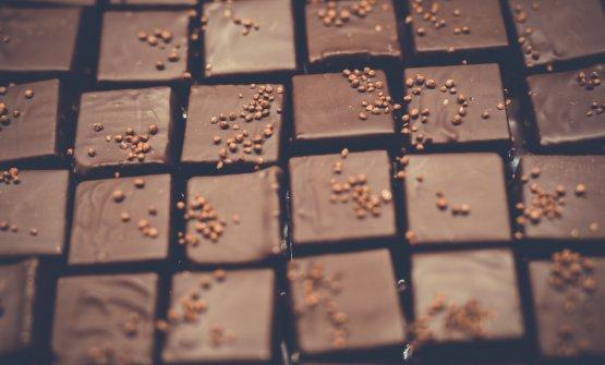 Il cioccolato per Stefano Venier, in Friuli: salse, praline, torte, gelati...