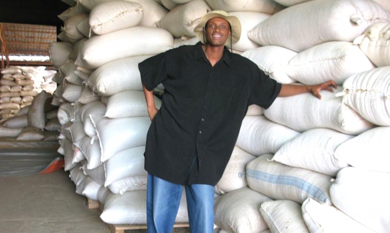 Arthur Karuletwa, Starbucks Director of Traceability