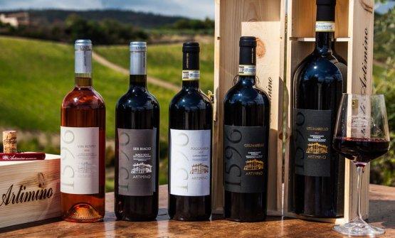 I vini della Tenuta Artimino