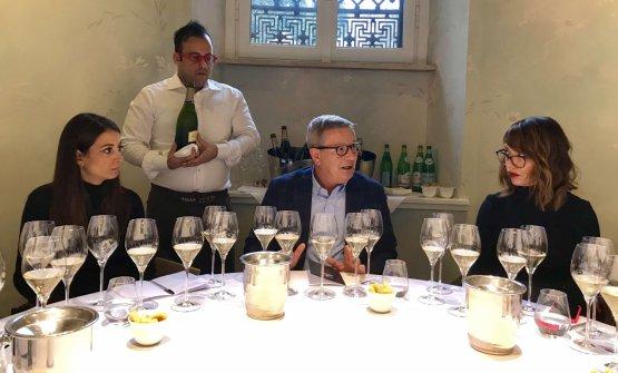 Arturo Ziliani a Identità Golose Milano presenta la verticale di Palazzo Lana Extrême