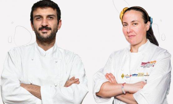Giovanni Arvonio con Carmen Vecchione
