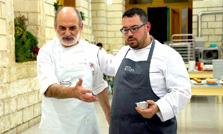 SalvatoreVicari con Corrado Assenza