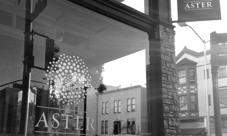 L'ingresso di Aster