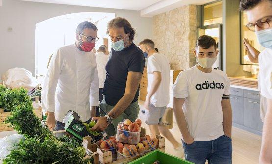 Giuseppe Iannotti e Simone Bonini