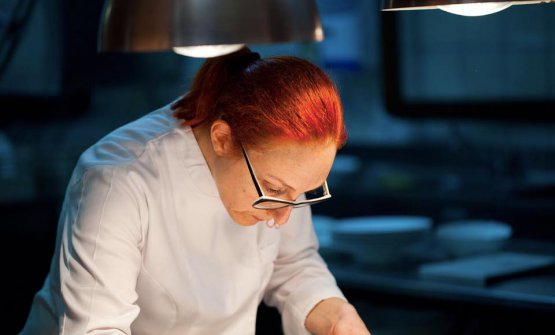 La chef Aurora Mazzucchelli