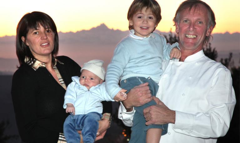 Maurilio Garola e famiglia