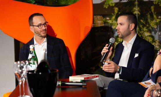Zappile con Federico De Cesare Viola, moderatore di giornata
