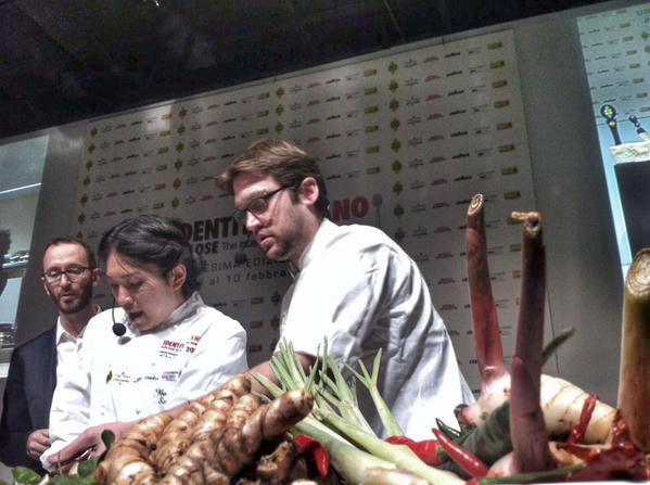 Dylan Jones e Bo Songvisavadel ristorante Bo.lan