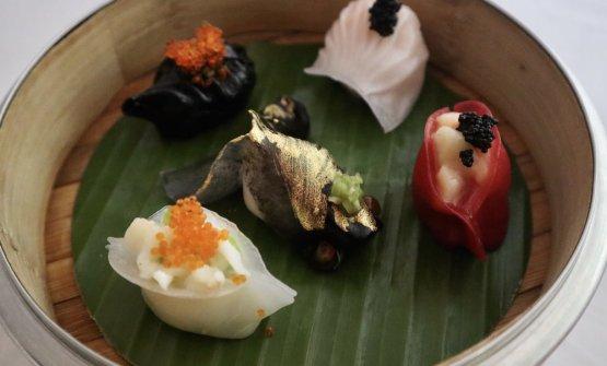 I 5 dumpling (ravioli) di BA