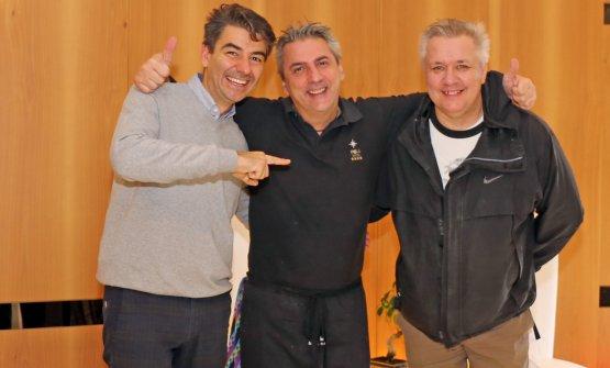 Sergio Barzetti, Vincenzo Marconi e Paolo Zoppolatti