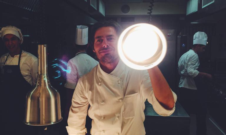 """Uno chef """"illuminante"""""""