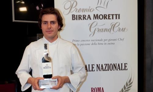 Giuliano Baldessari, vincitore della prima edizione, anno 2011. All'epoca era il sous chef di Massimiliano Alajmo alle Calandre di Rubano (Padova), oggi ha un ristorante tutto suo, Acqua Crua a Barbarano Vicentino (VIcenza)
