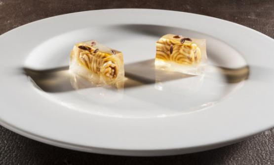 L'Aspic di spaghetti diMatteo BaronettodelCambiodi Torino