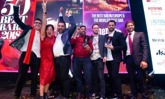 Festa per quelli delDandelyandi Londra, primo cocktail bar al mondo secondo la 50 Best Bars 2018