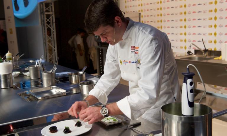 Enrico Bartolini, chef del Devero di Cavenago Brianza: è lui il Top dei 50 Top de I Cento di Milano