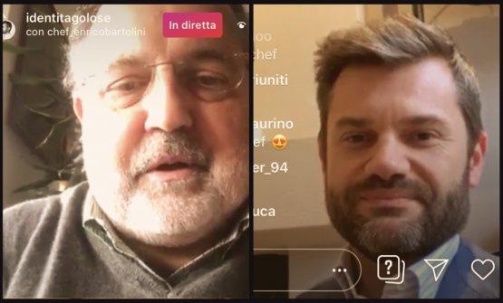 Enrico Bartolini e Paolo Marchi in diretta su Inst