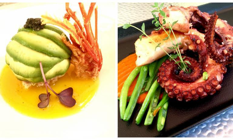 Due dei tanti straordinari piatti che abbiamo assaggiato al Confusion di Verona