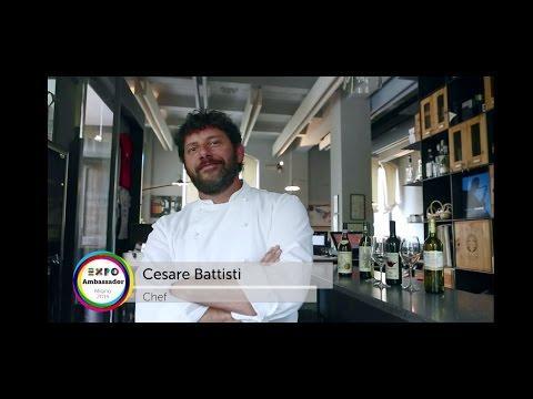 Cesare Battisti è Chef Ambassador di Expo 2015