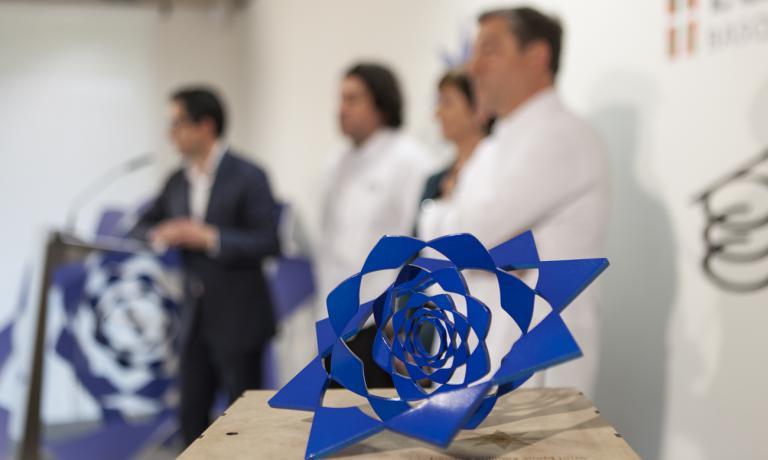 La cerimonia di consegna del Basque Culinary World Prize. Ha vinto l'italo-venezuelana Maria Fernanda Di Giacobbe, come abbiamo raccontato qui