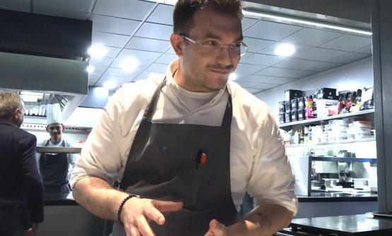Beppe Allegretta, pasticciere di razza a Unico Milano