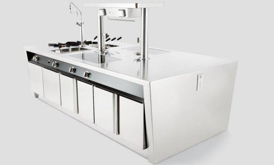 Uno dei tanti modelli di cucina dell'azienda