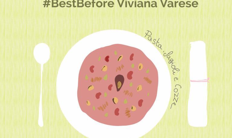 Nell'illustrazione diLisa Casali, Pasta, fagioli e cozzedella salernitana Viviana Varese, chef di Alice a Milano, una ricetta che valorizza3 ingredienti in scadenza. Lasfida, lanciata dall'autrice nel corso dell'ultimaGiornata della Terraè quella di farrealizzare a cuochi e lettori un piatto con 3 ingredienti in scadenzain frigo, per valorizzarli e non sprecarli. Scrivere ainfo@ecocucina.org