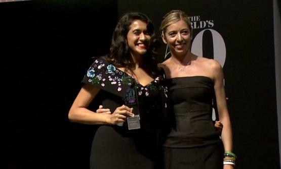 Daniela Soto-Innes e Héléne Pietrini della World's 50Best