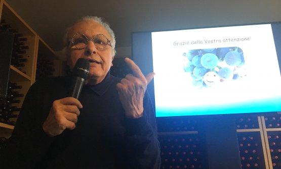 Angelo Gaja, presente all'incontro