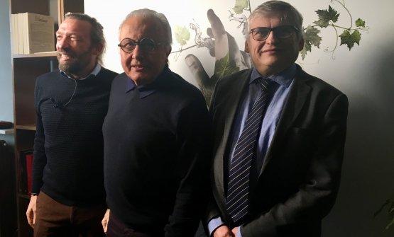 Giovanni Bigot,Angelo Gaja,Stefano Poni