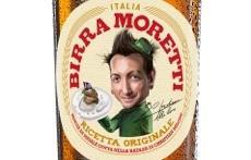 La caricatura dedicata a Christian Milone sull'etichetta della Birra Moretti Ricetta Originale
