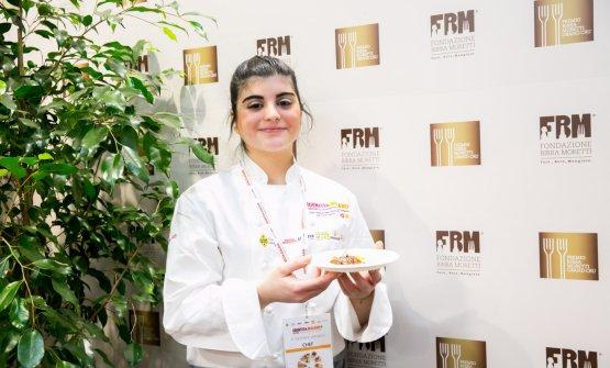 Solaika Marrocco, vincitrice 2017 (foto Sonia Santagostino)