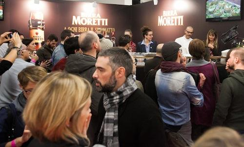 Il corner Birra Moretti ha ospitato nella due gior
