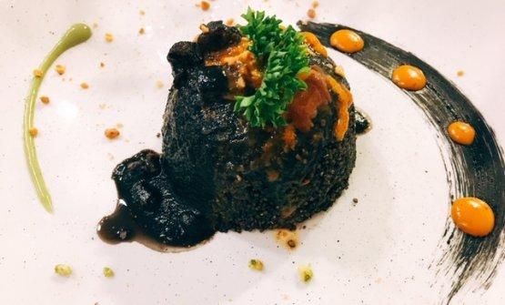 Il Black Ink è una delle novità del menu del Rai