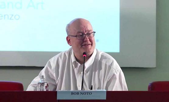 Bob Noto in una foto scattata nel 2013 durante un