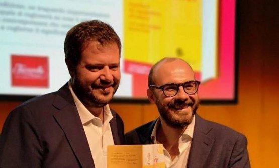 Marco Bolasco ed Eugenio Signoroni