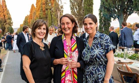 Da sinistra,Cinzia Merli,Le Macchiole Vice,P