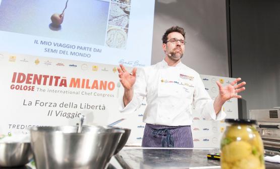 Il discusso intervento di Renato Bosco a Identità di Pizza: ha proposto topping con ananas, banana, kiwi...