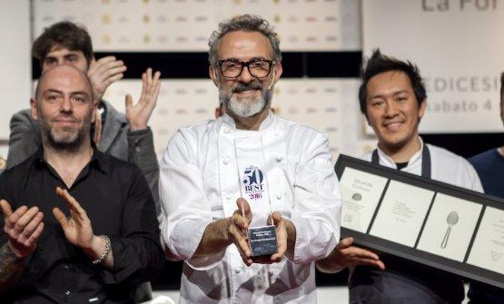 Massimo Bottura e i 50 Best