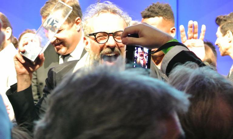 L'urlo liberatorio di Massimo Bottura