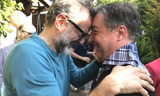 Massimo Bottura e Joan Roca a San Sebastian nella primavera 2018