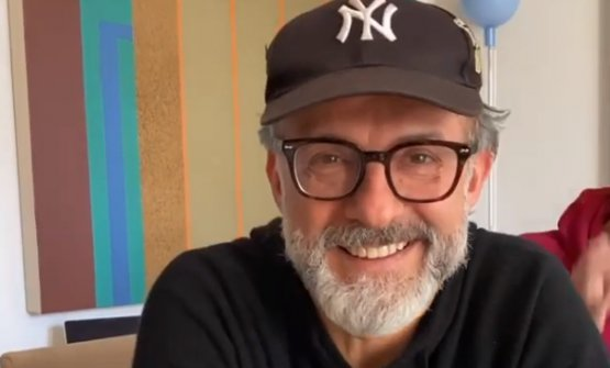 Massimo Bottura, in a frame from one of the many l